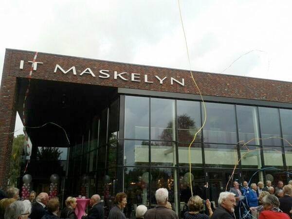 It Maskelyn - Hurdegaryp - Friesland Reclame - Lichtreclame, NEON ...