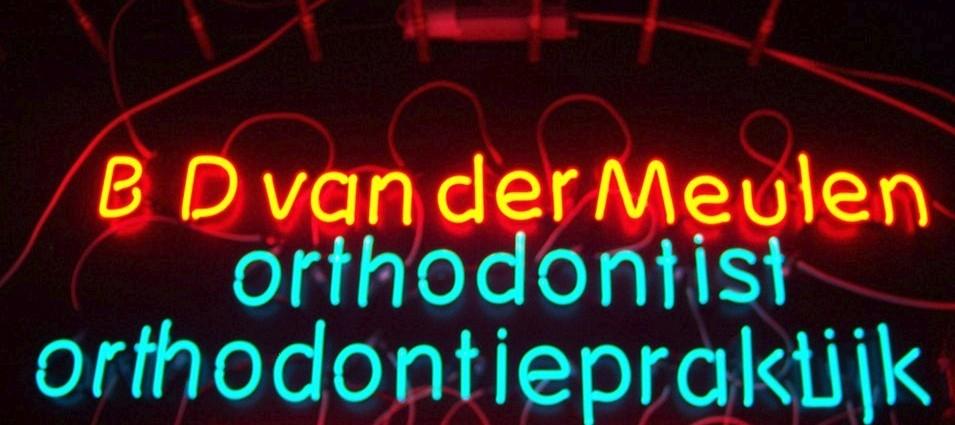 foto neon van der meulen